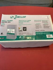 Zoeller 1010 2336 1 2 Hp Submersible Well Pump Control Box