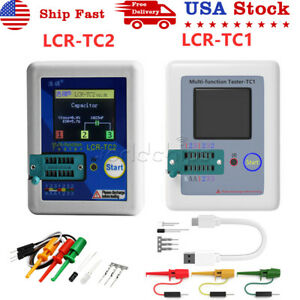 Upgraded Transistor Tester Diodes Lcr tc1 Lcr tc2 Tft Color Graphics Display