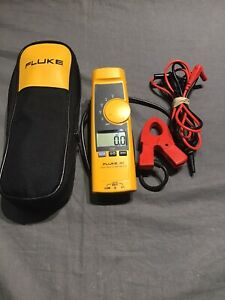 Fluke 365 Trms Clamp Meter Soft Case Excellent Condition Tested