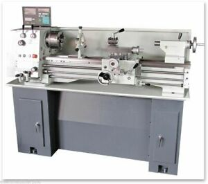 Eisen 1236gh Bench Lathe With Dro 5c Collet stand Made In Taiwan 1 phase 220v