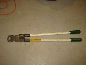 Greenlee 706 Heavy Duty Cable Cutters Good Working Condition