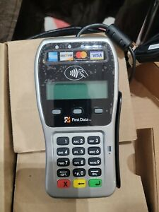 First Data Pin Pad With Apple And Google Pay Nfc