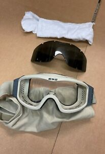 ESS NVG Profile Goggles Ballistic Tactical Tan Clear amp; smoke lense with sleeve $17.00