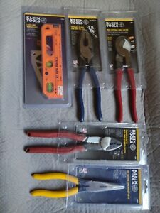 Klein Tools Set Of 5pc Electrician Hand Tools