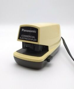 Panasonic Commercial Electric Stapler Desk Top Automatic Hands Free As 300n