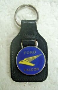 Vintage Ford Falcon Key Ring Made In England