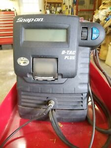 Snap On D Tac Plus Battery Charger Load Tester Starting Charging System Analyzer