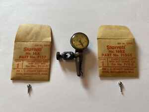 Starrett 711 f Last Word Dial Indicator 16a 035 16bx 062 Ball Contact Points
