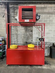Clean Burn Cb2800 Waste Oil Heater With 500 Gal Tank Stand