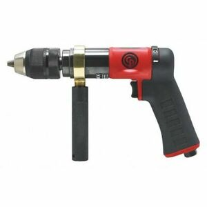 Chicago Pneumatic Cp9791c 1 2 Reversible Pistol Air Drill 850 Rpm
