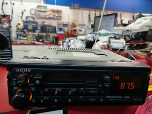 Vintage Sony Xr 5250 Am Fm Stereo Cassette Player Car Radio Pull Out Tape Deck