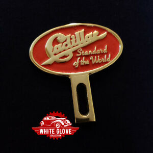 Cadillac License Plate Topper