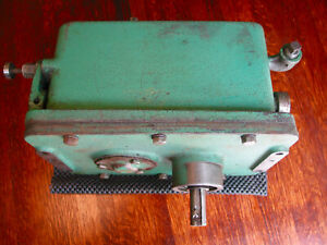 Powermatic 143 Band Saw 2 speed Gearbox Metal Wood For 141 Conversion