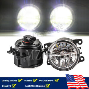 Led Fog Light Lamps 12v 55w Front Bumper Right Left Side Car Factory Accessories