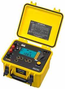 Aemc 6240 10a Micro ohmmeter With Kelvin Clips And Probes catalog 2129 80