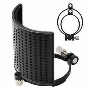 Microphone Pop Filter Mic Pop Filter for BLUE YETI AT2020 AT2050 MPFUBK1 $13.46