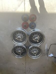 Zenith Wire Wheels And Knockoffs And Adapters 14x7