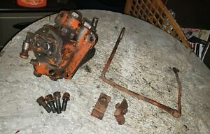 Allis Chalmers B C Tractor Hydraulic Pump Assembly With Lever An Linkage Rod Ac