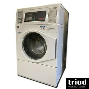 17 Speed Queen Horizon Coin Commercial Washer 1 Phase Laundromat Huebsch Unimac