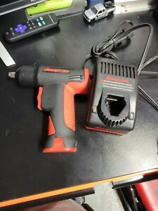 Snap On Ct561 3 8 7 2v Cordless Impact Wrench Kit W Battery Charger Case
