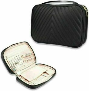 Portable Storage Jewelry Organizer Travel Lightweight For Earrings Travel Case