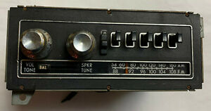 1970 s Clarion Model Chafs Am Fm Radio Car Stereo Vintage Classic