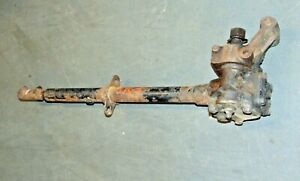 Triumph Tr2 Tr3 B Steering Box With Lower Column coupler nice Clean Assembly s3