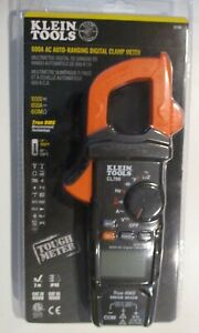 Klein Tools Cl700 600a 1000v Ac True Rms Auto ranging Digital Clamp Meter New