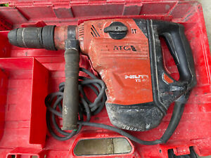 Hilti Te 60 Atc Avr Corded Rotary Hammer Great Price Working With Case