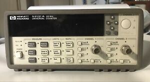 Hp Agilent 53131a Universal Frequency Counter 225mhz