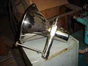 7 X 6 Inch Stainless Steel Cone Funnel Tank Muller schuss