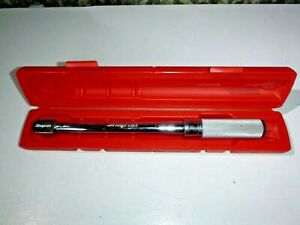 Snap On Tools Qd2100 3 8 Drive Fixed Head Torque Wrench 20 100ft Lbs