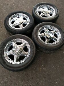 1987 1993 Ford Mustang Set Of 4 Wheels And Tires 245 50r16