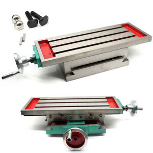 Multifunction Xy Axis Cross Slide Worktable Milling Machine Bench Drill Stands