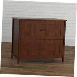 Cedar Lane Collection Home Office Lateral Filing Cabinet 33 50 Tanned Cherry