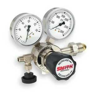 Miller Electric 213 4102 High Purity Gas Regulator Single Stage Cga 320 0 To