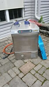Hobart Lx30h Commercial Hi Temp Under Counter Dish Washer With Chem Pumps