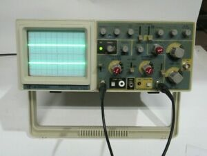 Bk Precision 60 Mhz Oscilloscope Model 2160a Tested Working