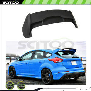 For 2012 2018 Ford Focus Hatchback Rs Factory Style Spoiler Wing Matte Black