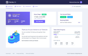 Tokenlite Ico Sto Token Sale Management Website With Free Domain And Hosting