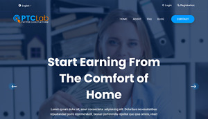Ptclab Pay Per Click Platform Website With Free Domain Hosting