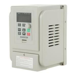 Ac 220v 1 5kw 8a Vfd 3 phase Speed Control Variable Frequency Drive Inverter New