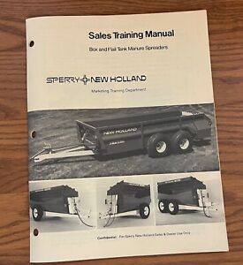 Sperry New Holland 1982 Box Flail Tank Manure Spreaders 6135744 3 82