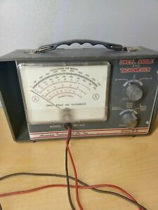 Accurate Instrument Co Inc Dwell Angle Tachometer Model Bt 163 Untested