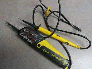 Greenlee Dvc 6 Voltage Tester With Case 12