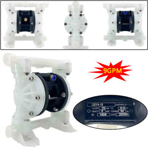 Diaphragm Pump 100psi 1 2 Inlet Outlet Air operated Double Diaphragm Pump