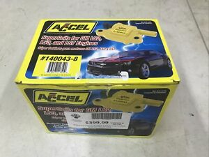 Accel 140043 8 Ignition Coil Set Gm Ls2 Ls3 And Ls7 Super Coil 8 Pack