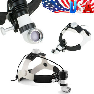 Dental Surgical Headlight Ent Medical Headlamp Led 5w Wireless Rechargeable Fda