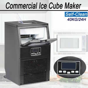 Smad Built in Commercial Ice Maker Bar Restaurant Self clean Ice Cube Machine