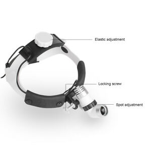 Brigtness 3w Led Surgical Head Light Dental Medical Lamp Headlight All in one Ce